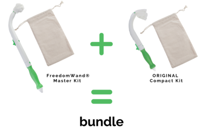 FreedomWand® Master Kit and ORIGINAL Compact Kit Bundle