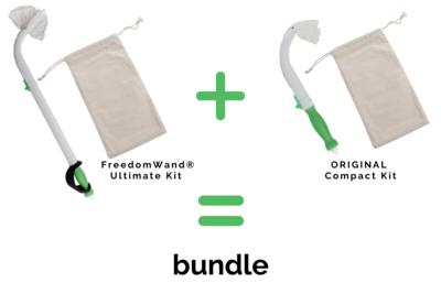 FreedomWand® Ultimate Kit and ORIGINAL Compact Kit Bundle
