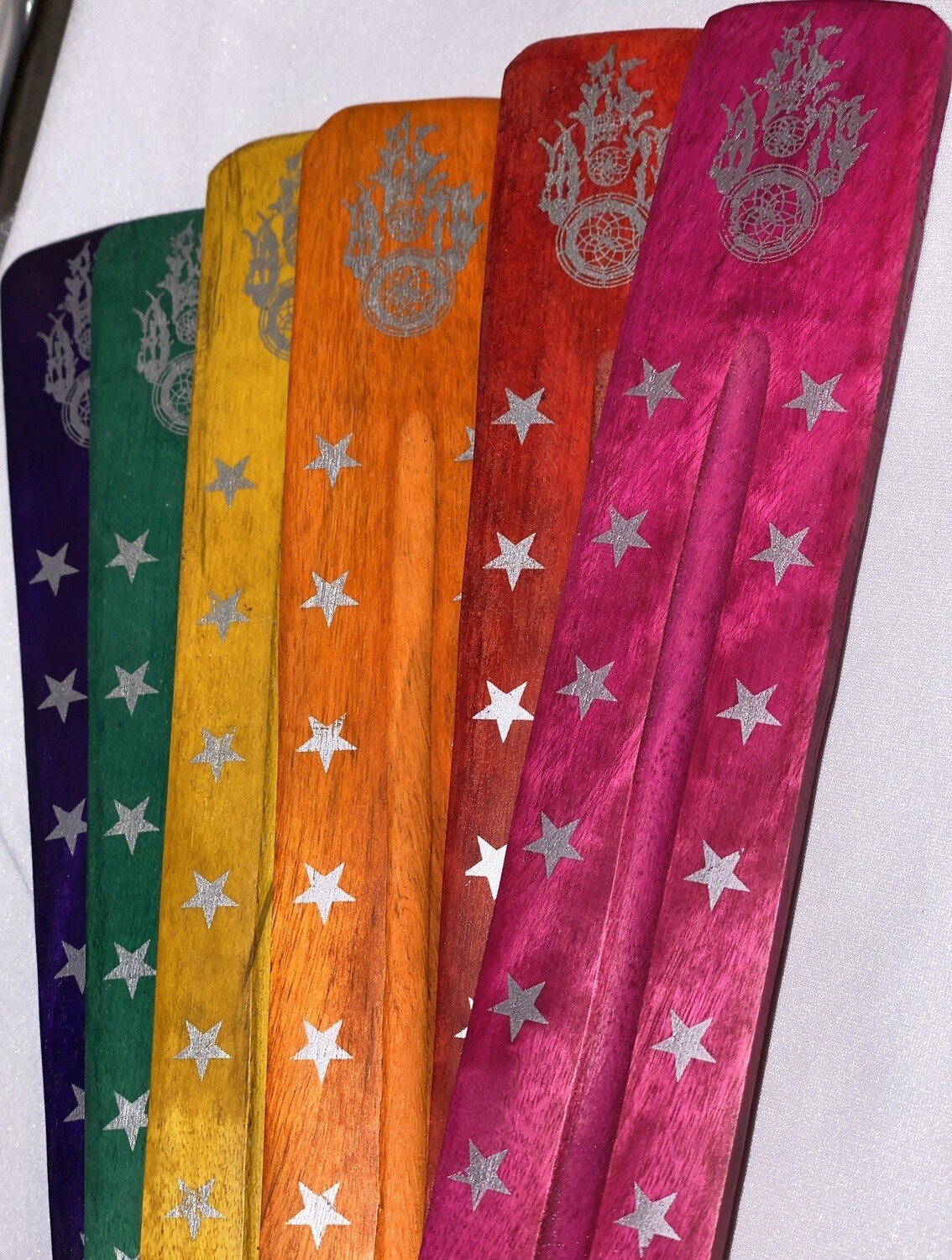 Colorful Dreamcatcher Incense Holders