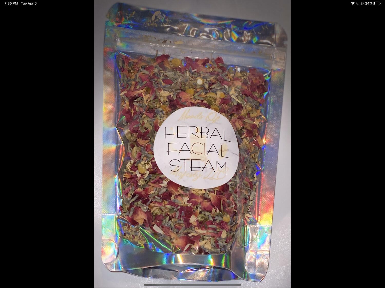 Herbal Face Steam & Lip Balm Bundle