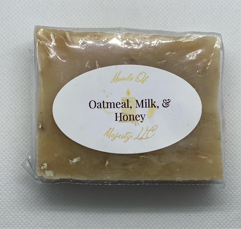 Oatmeal, Milk, & Honey Soap Bar