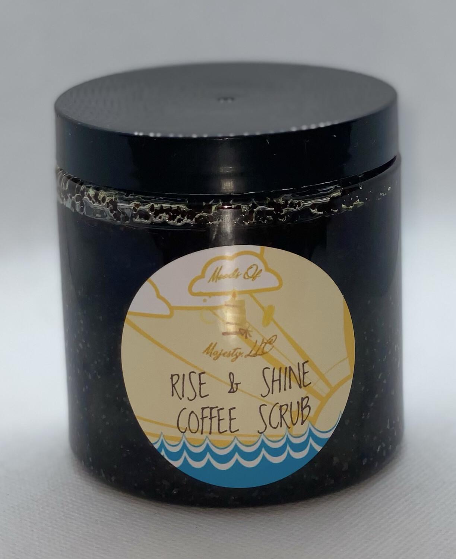 Rise & Shine Coffee Scrub 10oz. Size