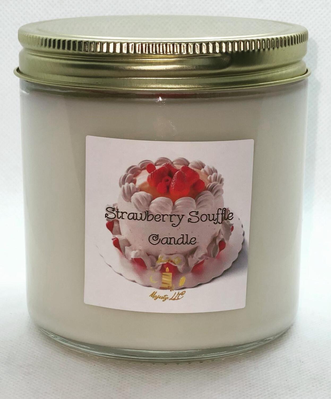 Strawberry Soufflé Candle