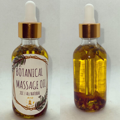 Botanical Massage Oil