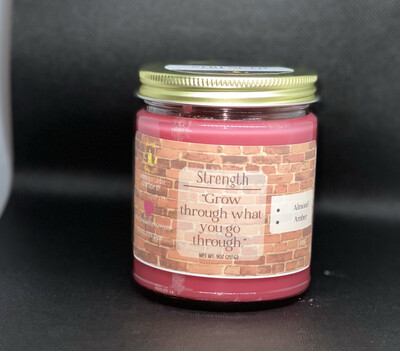 Strength Candle