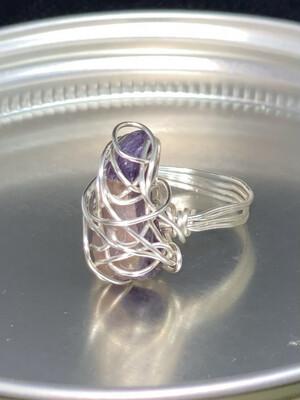 Amythest Ring Size 8