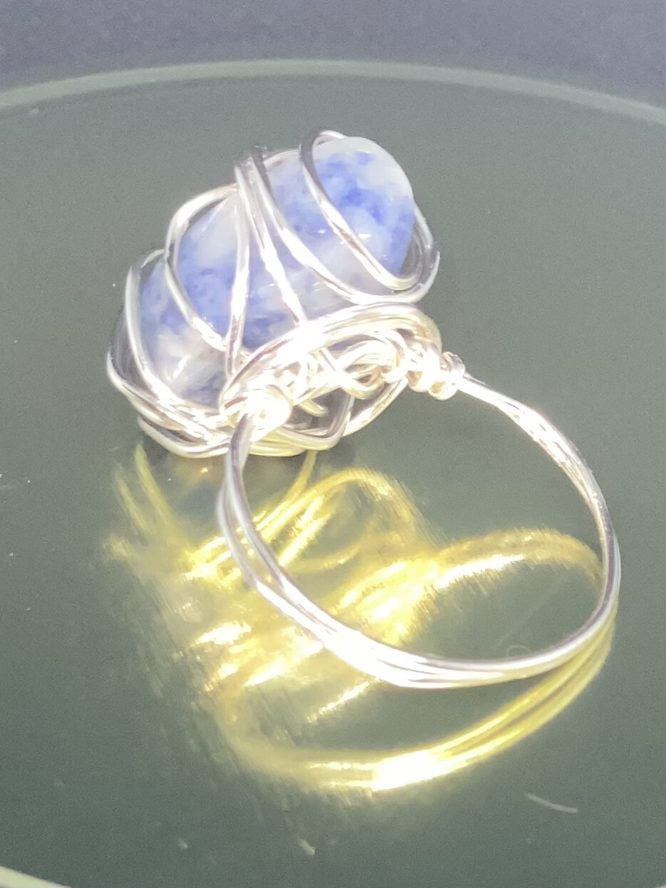 Sodalite Ring Size 10