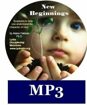 New Beginnings, MP3 - Scripture read w/piano accompaniment by Alaine Pakkala, Ph.D.