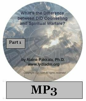 What's the Difference Between D.I.D. Counseling and Spiritual Warfare - Part 1  MP3