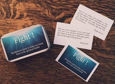 Fight! Meditation Cards - compiled by Alaine Pakkala, Ph.D.