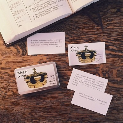 King of Kings Meditation Cards - compiled by Alaine Pakkala, Ph.D.