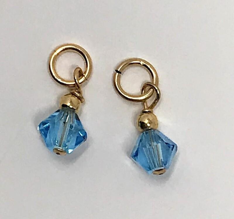 J-Aqua Blue Crystal Drops (set)