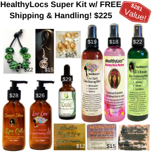 """HealthyLocs SUPER Kit! - use code: """"SUPER"""" at checkout to receive Free Shipping!"""