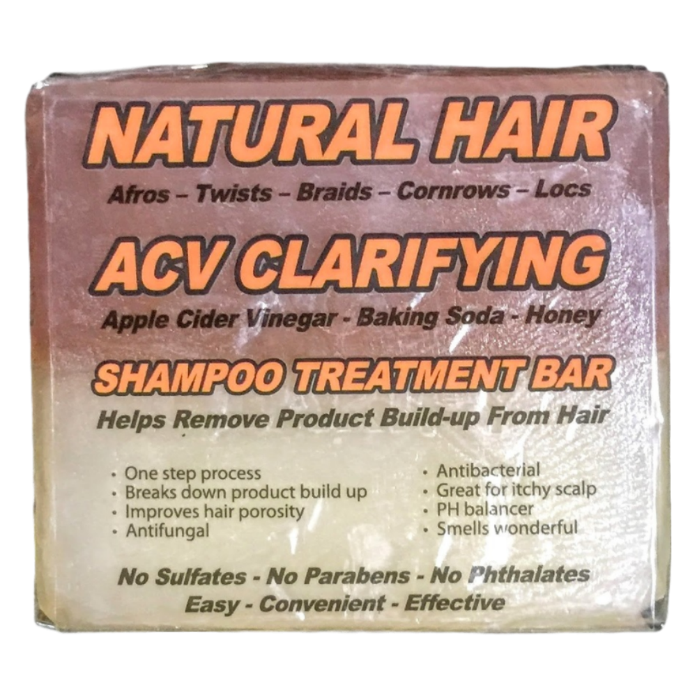 Natural Hair ACV Clarifying Shampoo Treatment Bar