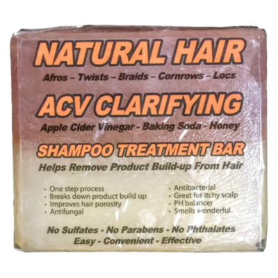 Natural Hair ACV Clarifying Shampoo Treatment Bar