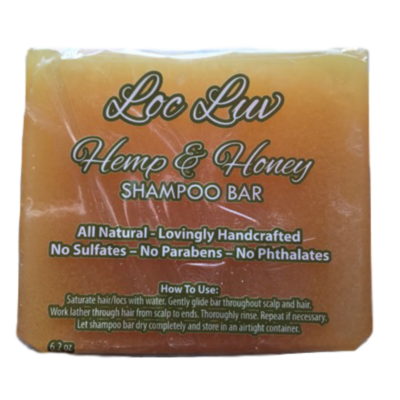 Shampoo Bar - Loc Luv Hemp & Honey