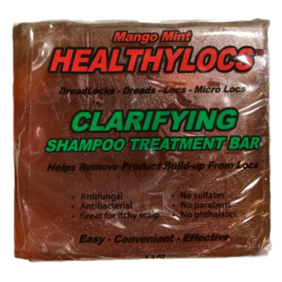 Mango Mint Clarifying Shampoo Treatment Bar