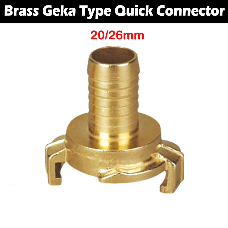 Brass Quick Connect Water Fittings Claw Coupling (Geka)
