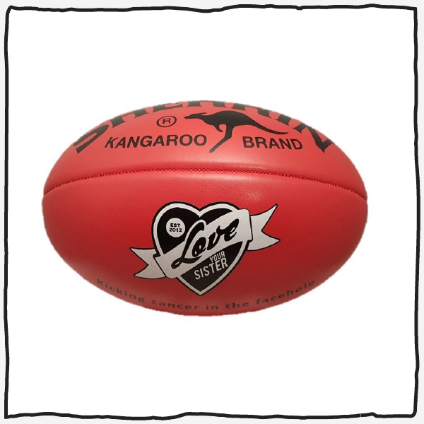 LYS Football - made by Sherrin