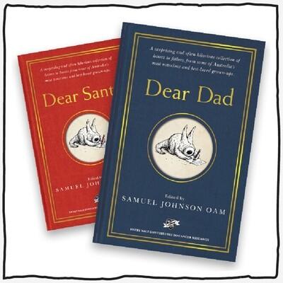 Dear Dad & Dear Santa Combo