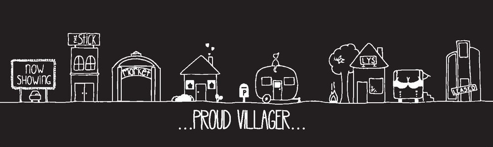 Z - ARCHIVED - Panorama Sticker - The Village