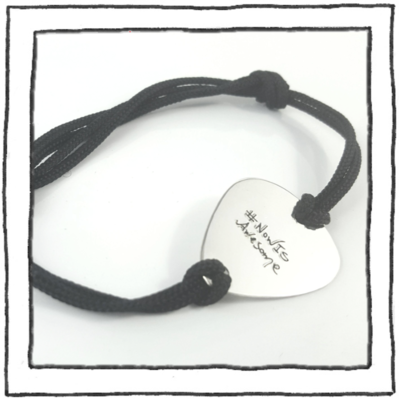Bracelet - Guitar Pick - #NowIsAwesome