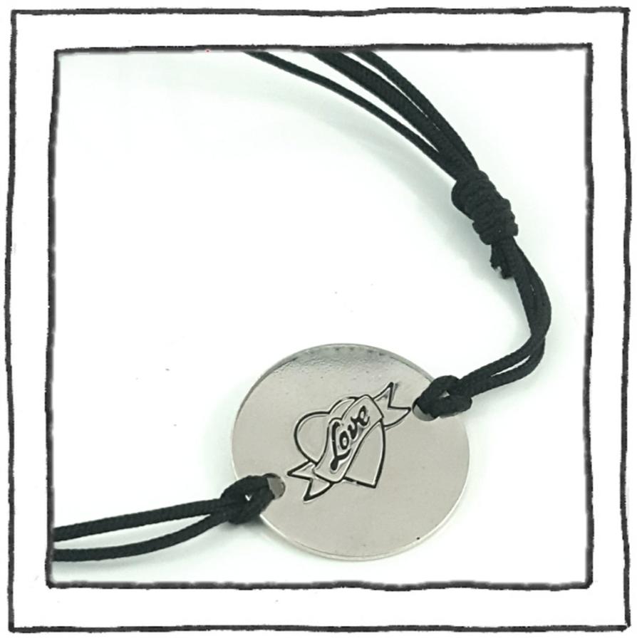 Bracelet - Silver Logo