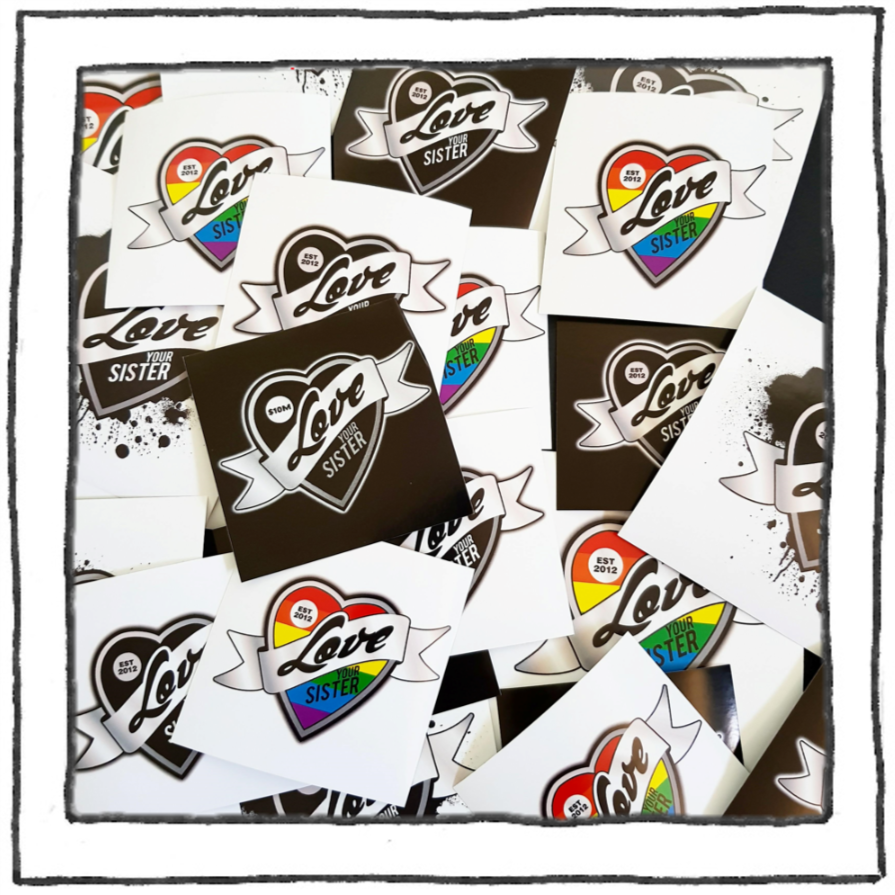 Sticker - Square. From: