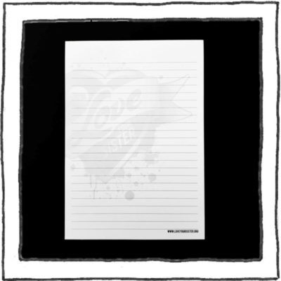 Notepad - A5 - Watermark