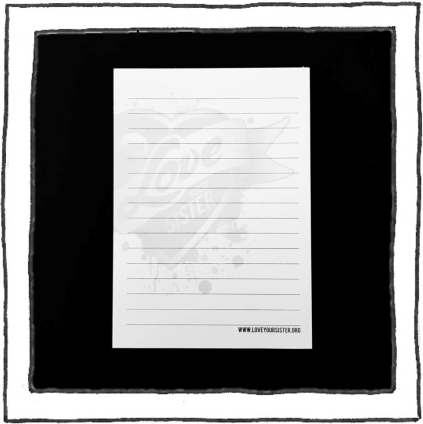 Notepad - A6 - Watermark