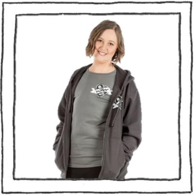 Tee - LYS Logo - Charcoal - Womens