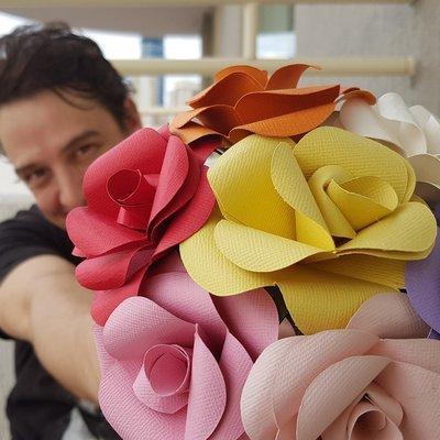 Paper Forever Rose