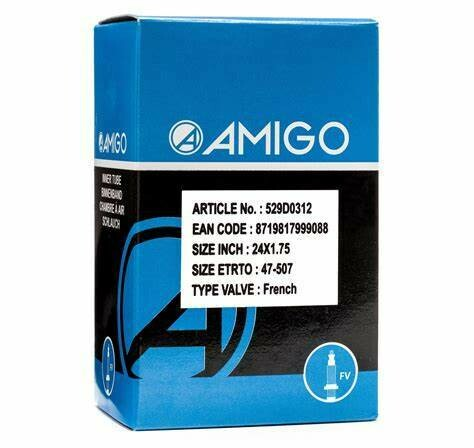 Amigo Inner Tube Presta Valve 48 mm