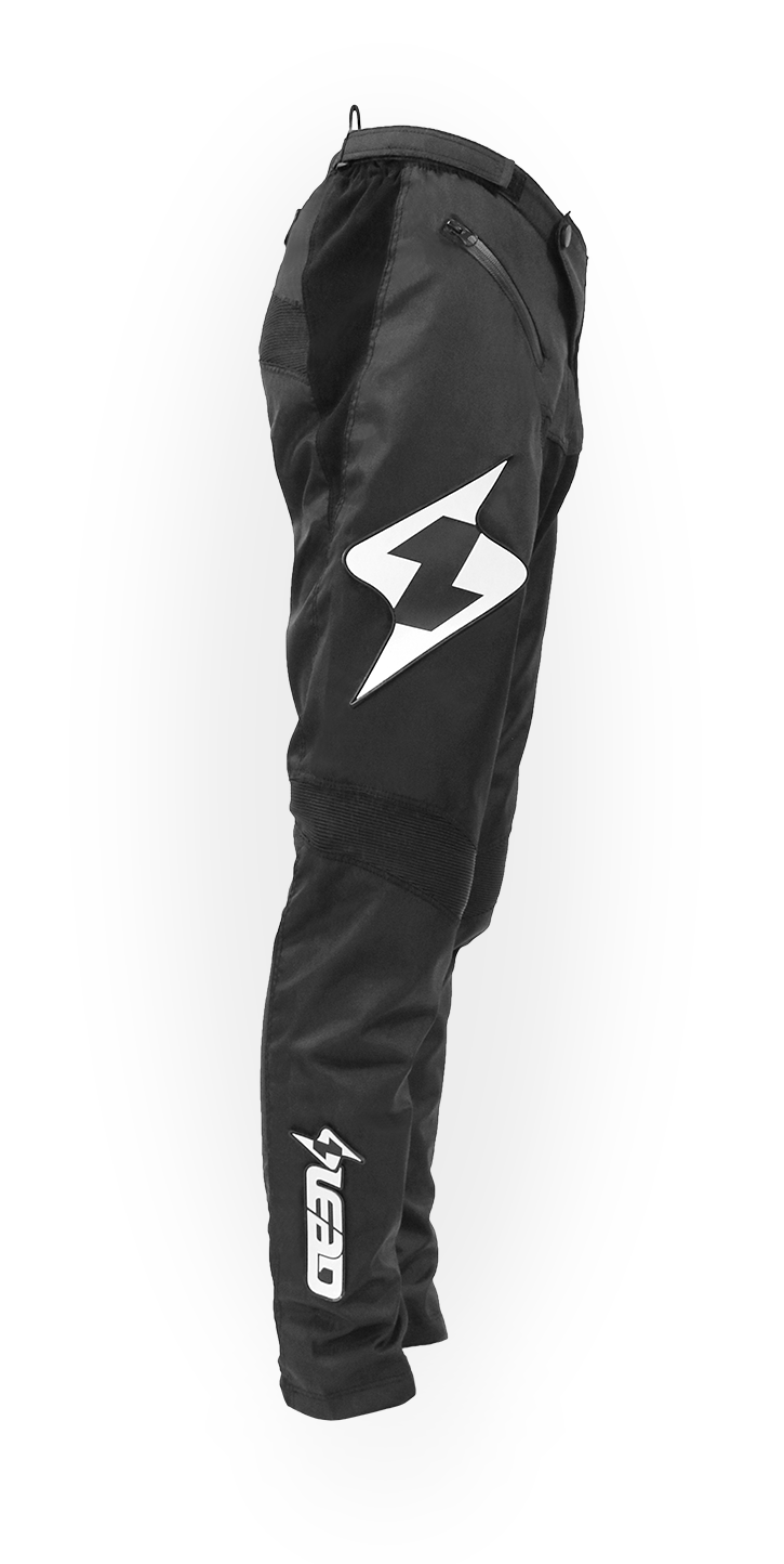 Lead Race Shorts  Black/White