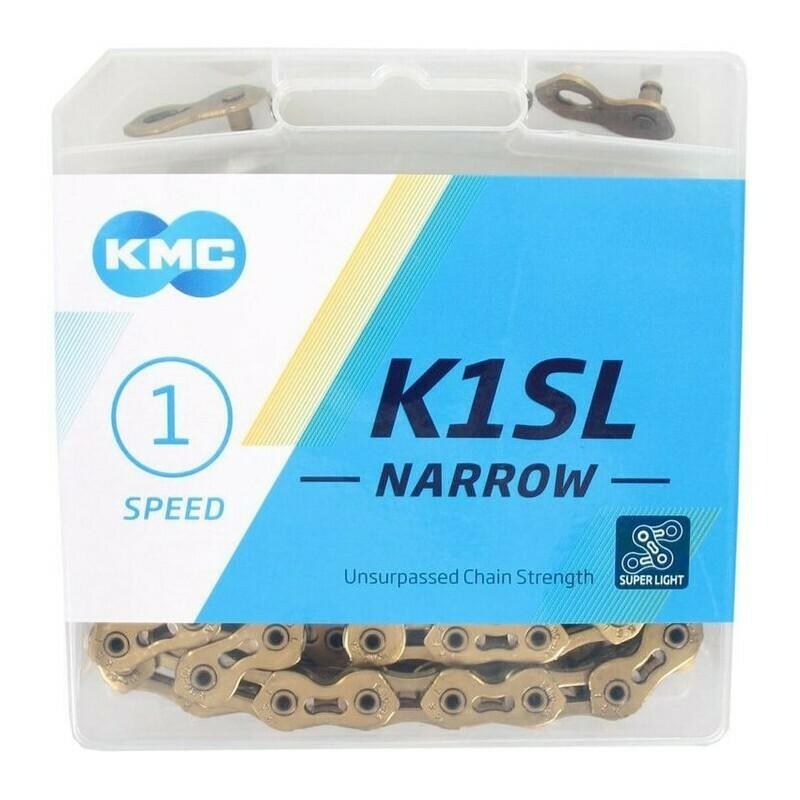 KMC Chain K1SL NI Gold