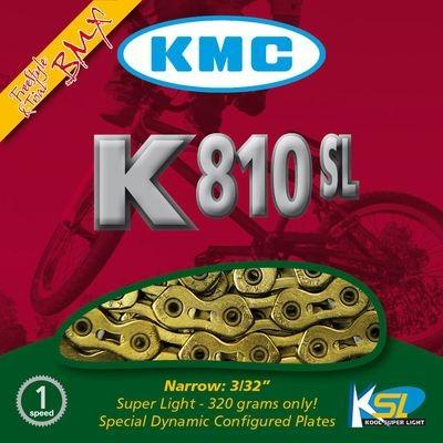 KMC Chain K 810 SL Gold