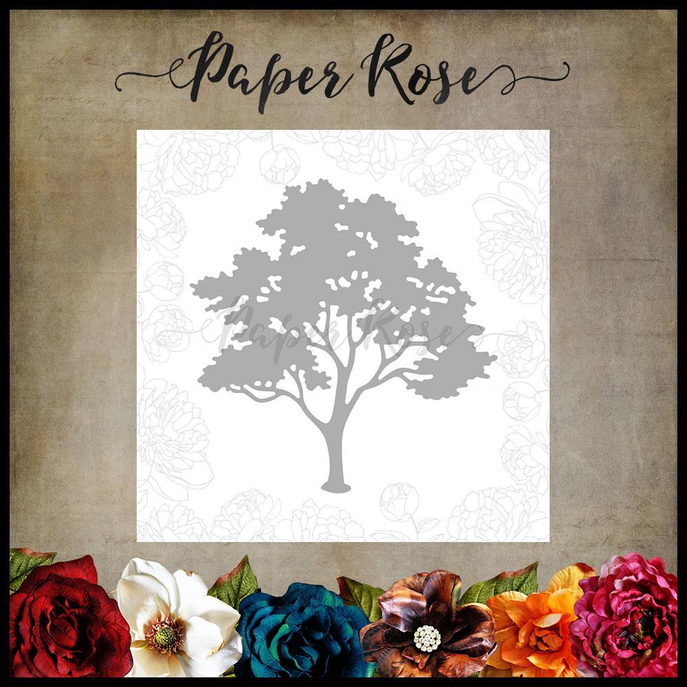 Paper Rose - Gum Tree Metal Die