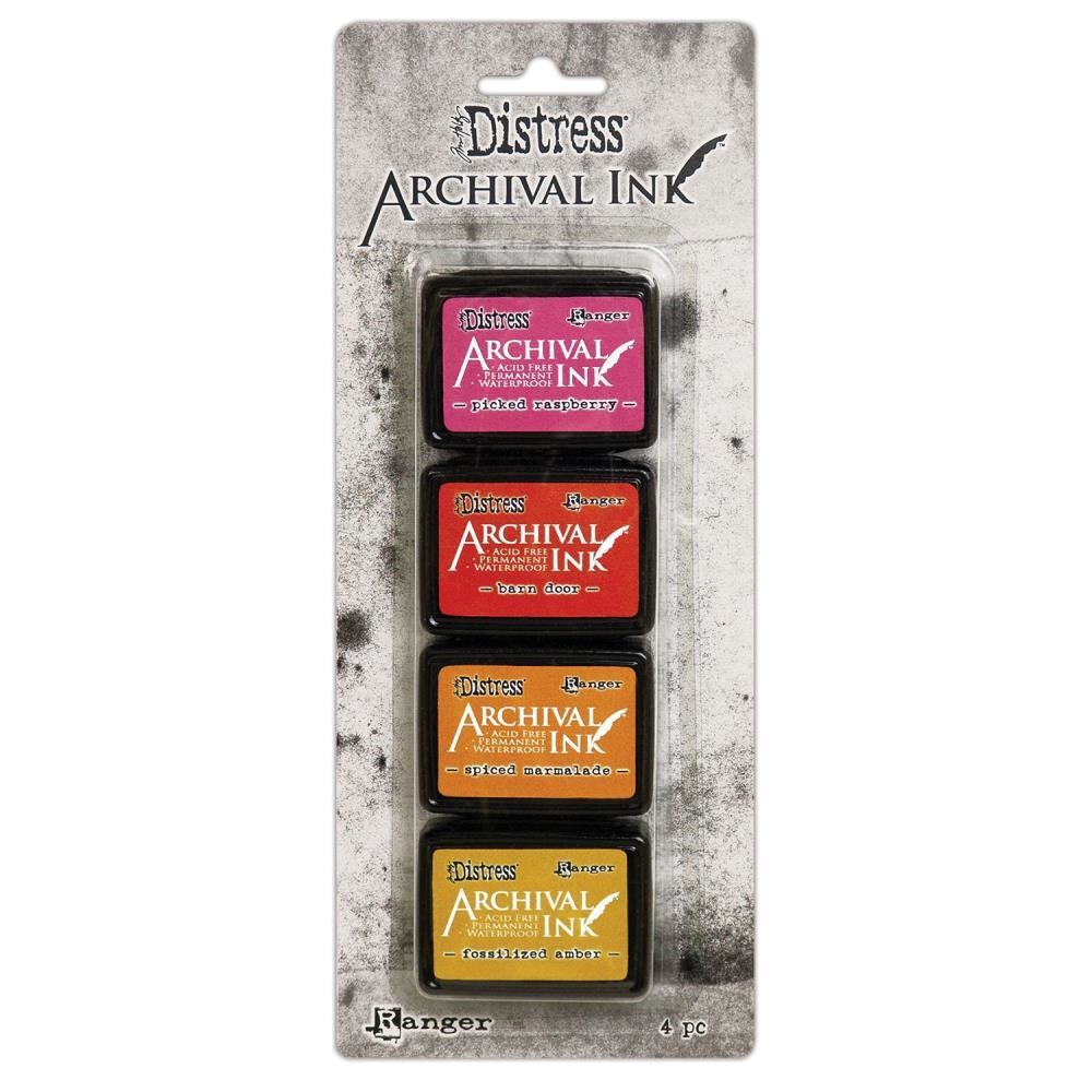 Archival Ink Pads Mini - Distress Kit 1
