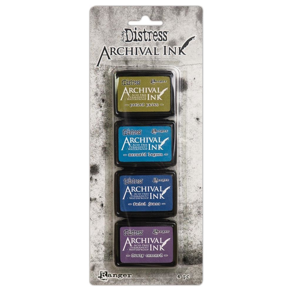 Archival Ink Pads Mini - Distress Kit 2