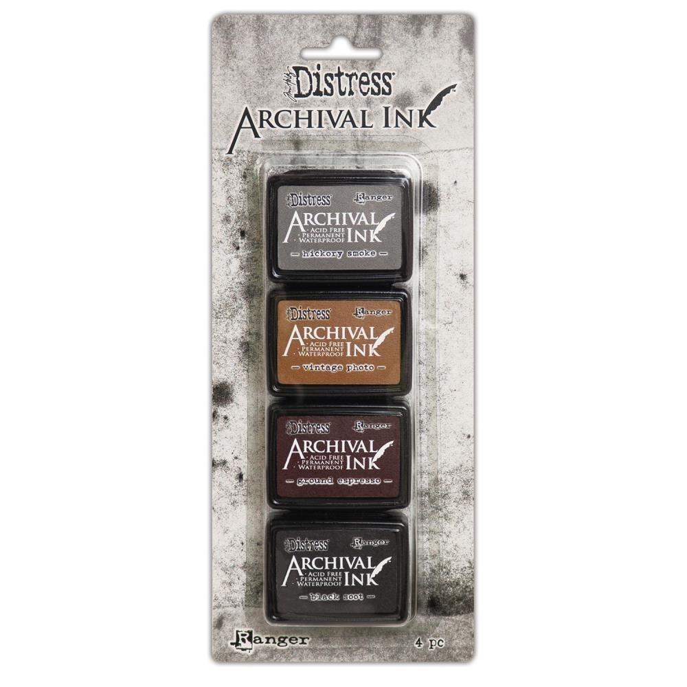 Archival Ink Pads Mini - Distress Kit 3