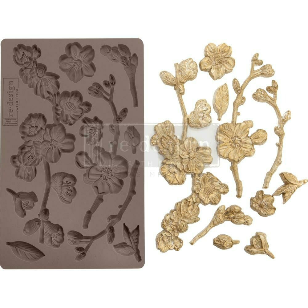 Prima Redesign Mould - Cherry Blossoms