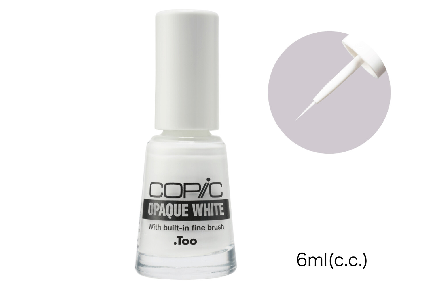 Copic Opaque White with Brush