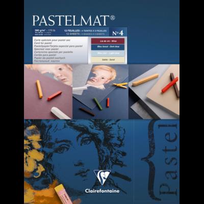 PASTELMAT 360g PASTEL PAPER PAD No.4 - 18x24cm