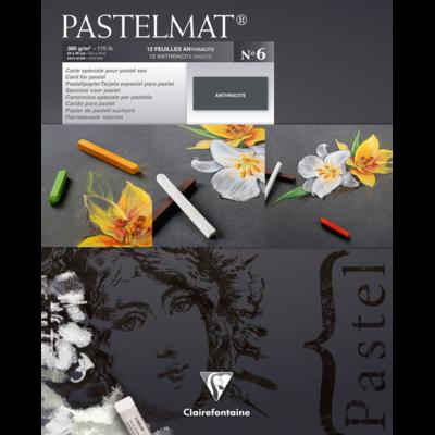 PASTELMAT 360g PASTEL PAPER PAD No.6 - 18x24cm