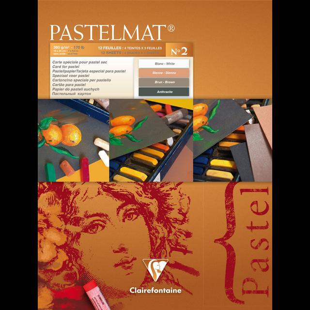 PASTELMAT 360g PASTEL PAPER PAD No.2 - 18x24cm