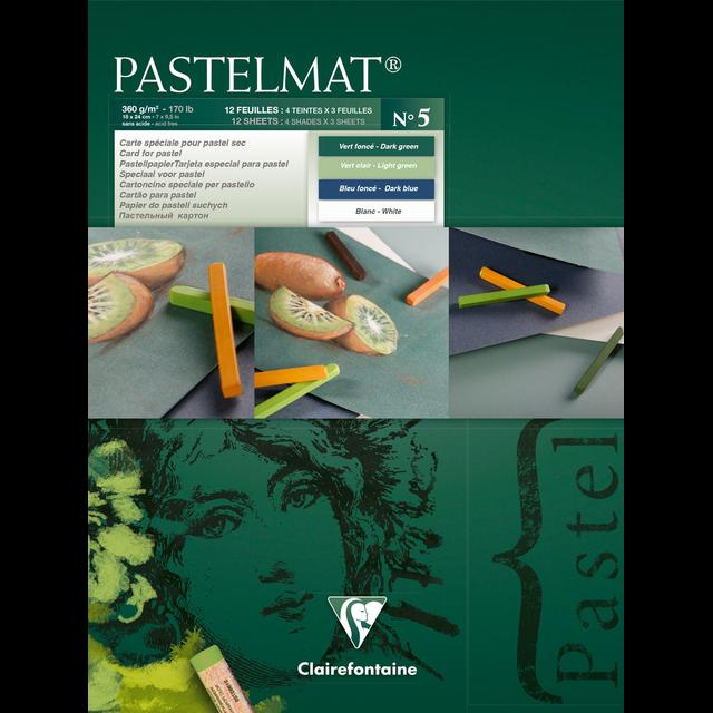 PASTELMAT 360g PASTEL PAPER PAD No.5 - 18x24cm