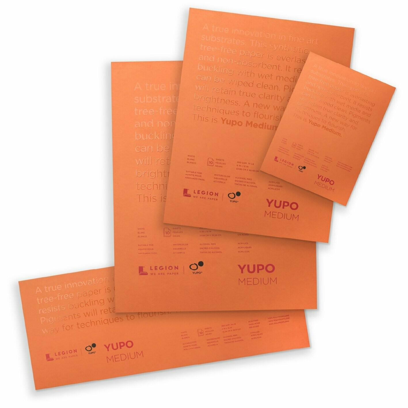 "YUPO® Ultra Medium Synthetic Paper Pad - 5""x7"""