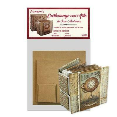 Stamperia Royal Box & Book by Sara Alcobendas