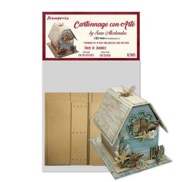Stamperia House of Journal by Sara Alcobendas