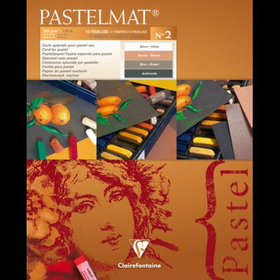 PASTELMAT 360g PASTEL PAPER PAD No.2 - 24x30cm